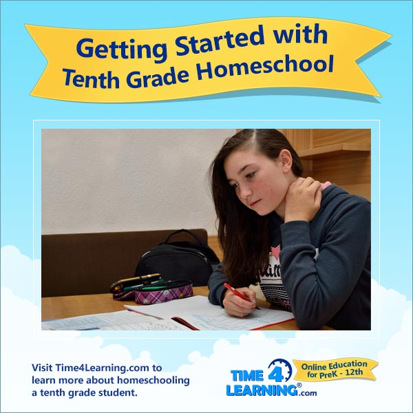 Getting Started with 10th Grade Homeschool