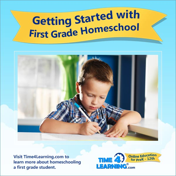 Getting Started with First Grade Homeschool