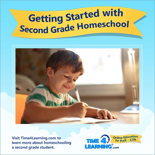Getting Started with Second Grade Homeschool