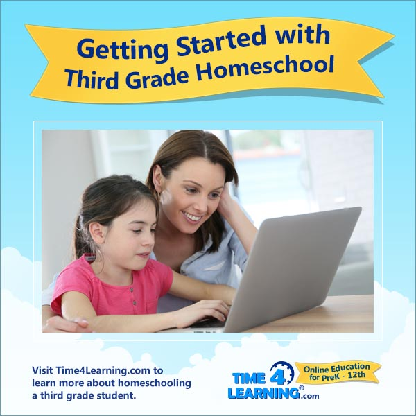 Getting Started with 3rd Grade Homeschool
