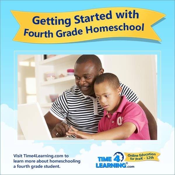 Getting Started with Fourth Grade Homeschool
