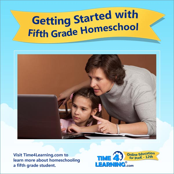Getting Started with 5th Grade Homeschool
