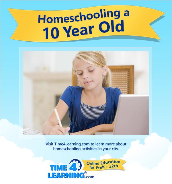 Homeschooling a Ten Year Old