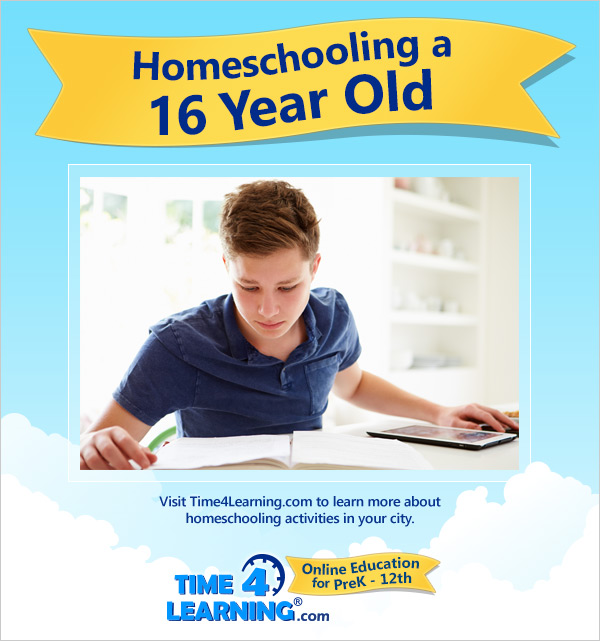 Homeschooling a Sixteen Year Old