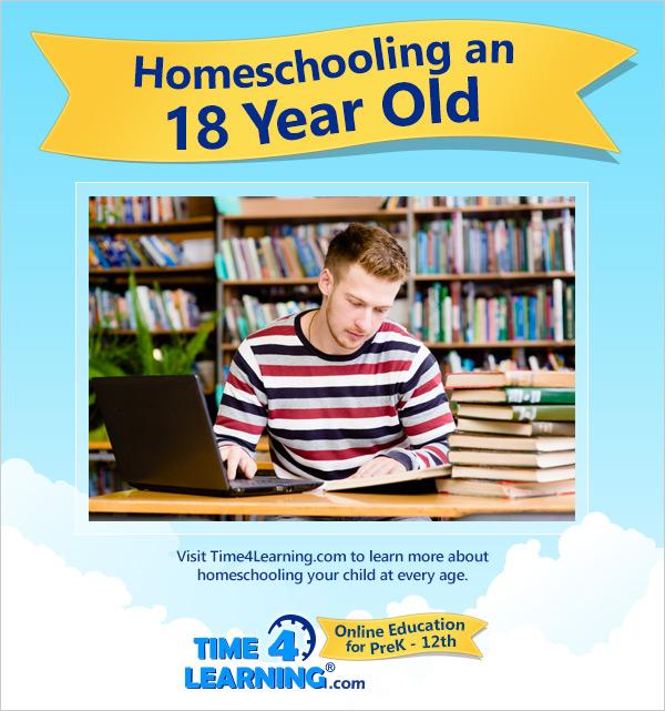 Homeschooling an Eighteen Year Old