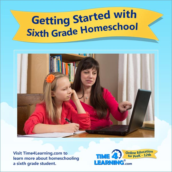 Getting Started with Sixth Grade Homeschool