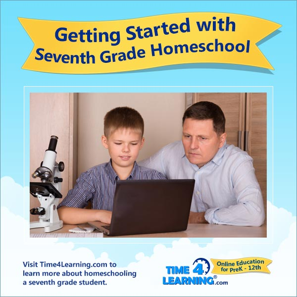 Getting Started with 7th Grade Homeschool