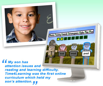 Online Elementary Education Games & Tools | Time4Learning
