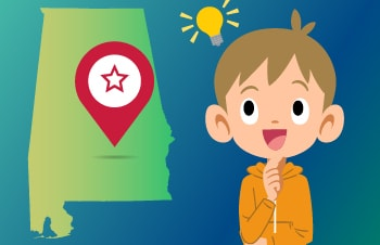 Alabama Learning Games for Kids