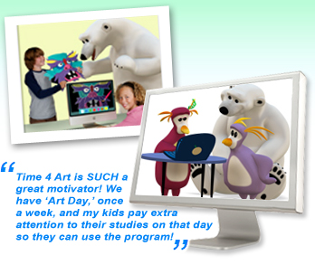 Time4Learning and Creativity Express team up to bring you Time4Art!
