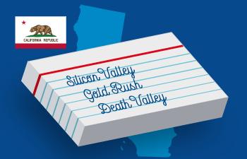 California Vocabulary List & Games