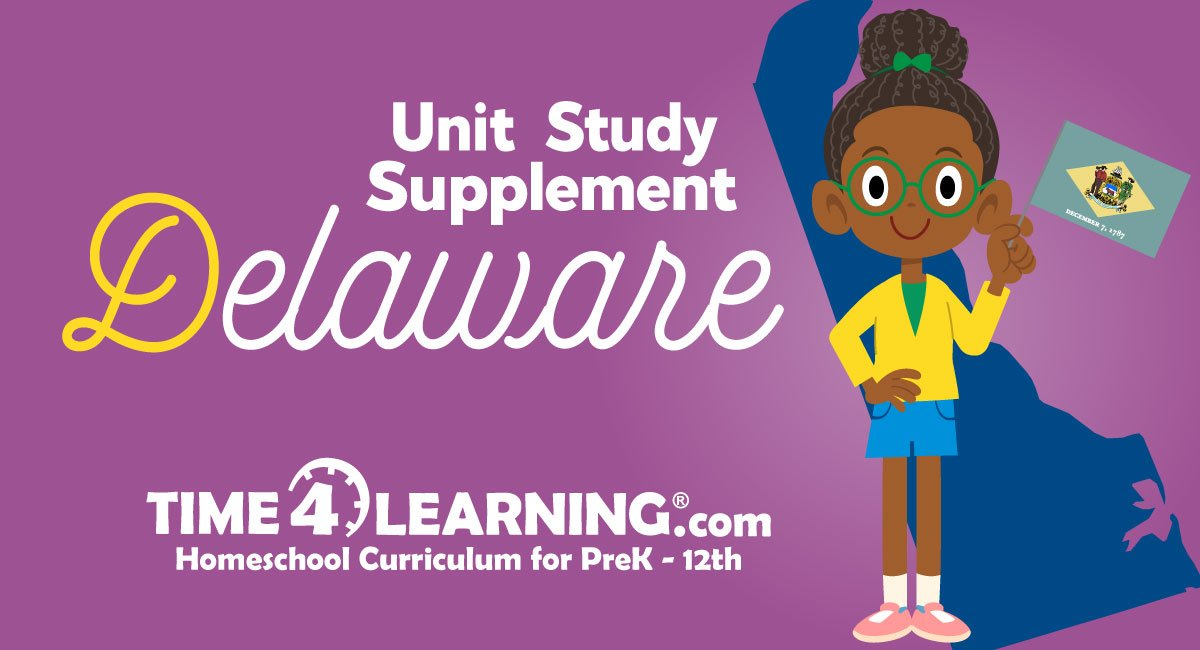 Homeschool Unit Study Delaware State Facts on Texas Government Worksheets Kindergarten
