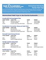 Florida Field Trip Resource