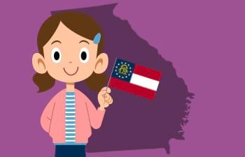 Homeschool Unit Study: Georgia State Facts Thumbnail