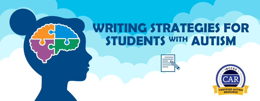 Teaching Writing To Students With Autism Time4learning