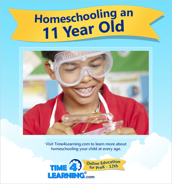 Homeschooling an Eleven Year Old