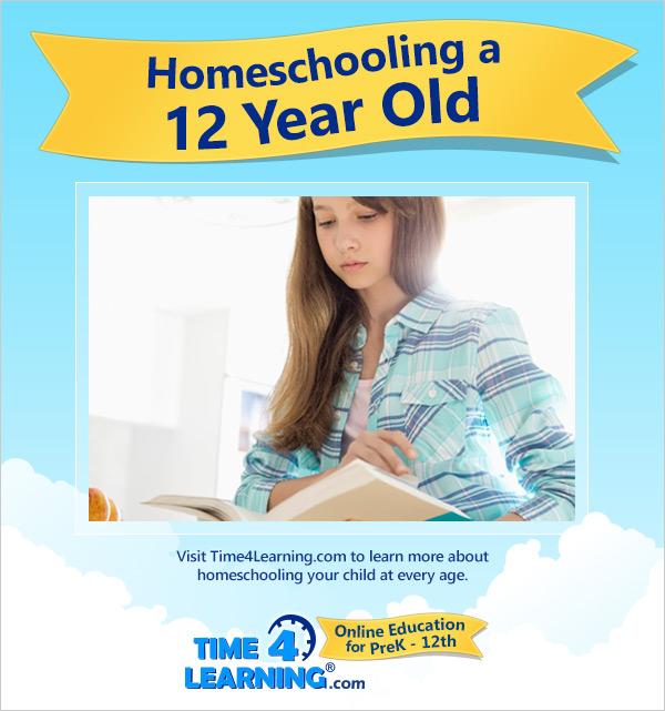 Homeschooling a Twelve Year Old
