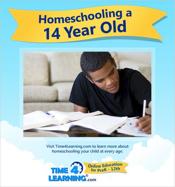 Homeschooling a Fourteen Year Old