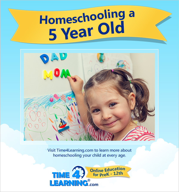 Homeschooling a Five Year Old