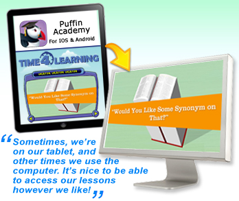 Access Time4Learning from Anywhere by Mobile App for Android & iOS!