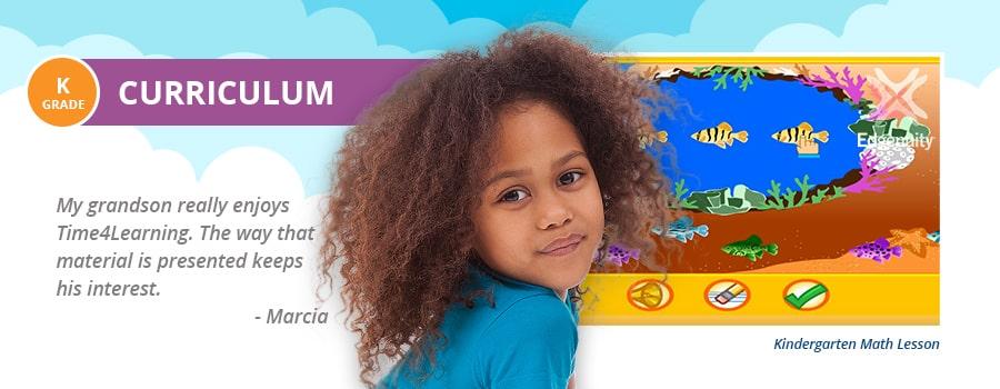Online Kindergarten Curriculum | Time4Learning