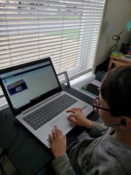 Luis Homeschooling