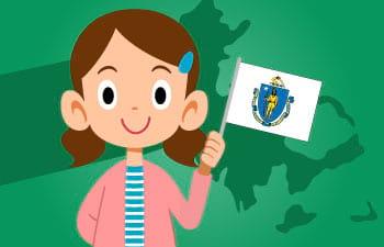 Homeschool Unit Study: Massachusetts State Facts Thumbnail