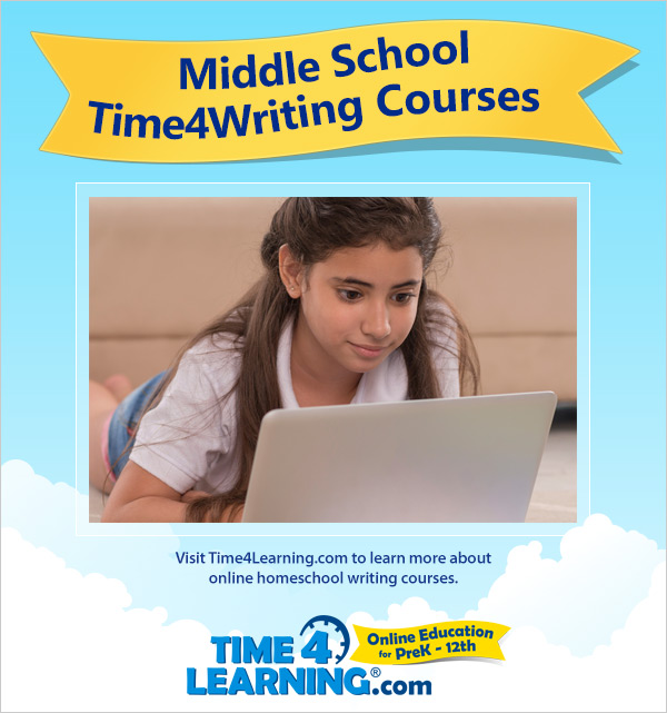 Online Writing Curriculum for Middle School Students