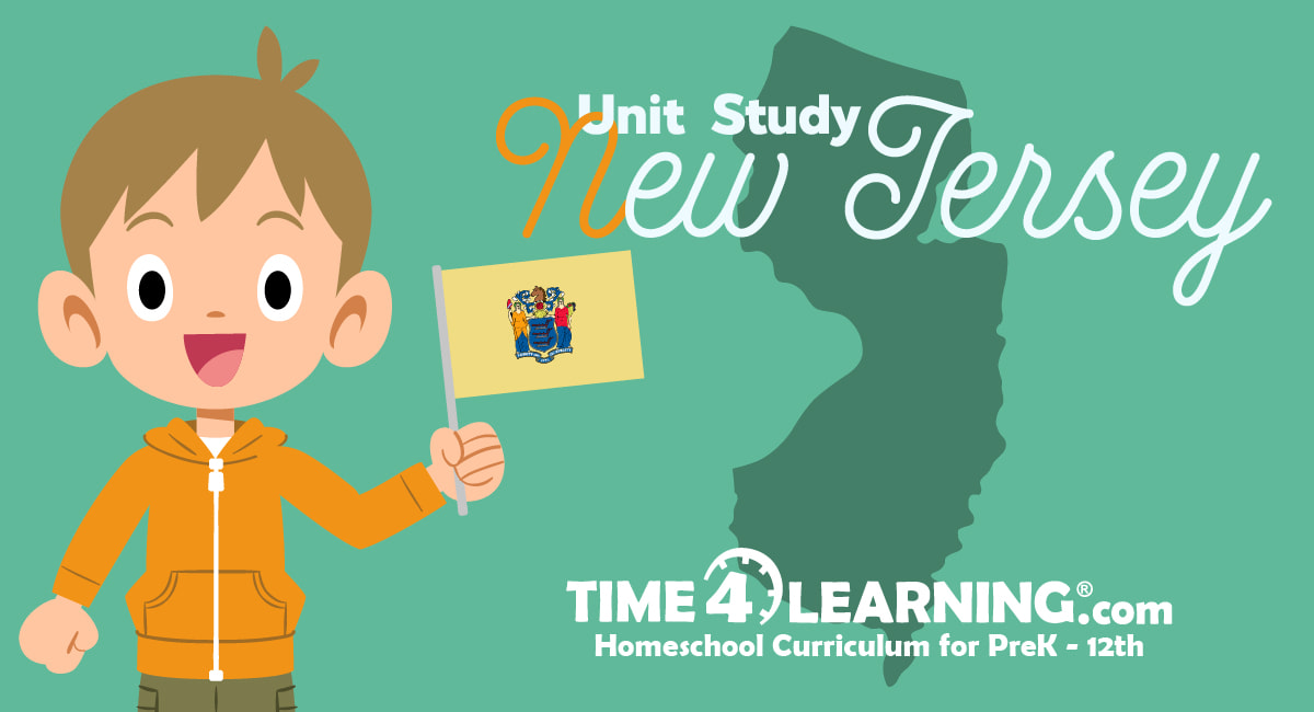 Unit Study Supplement: New Jersey Facts, U.S. 3rd State ...