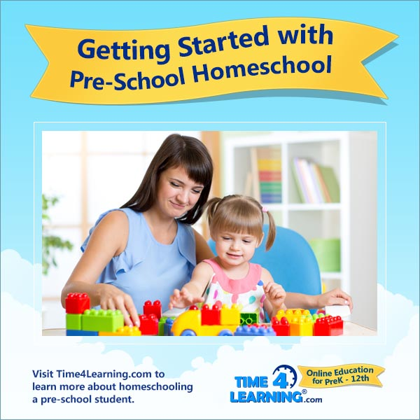 Getting Started with Pre-K Homeschool