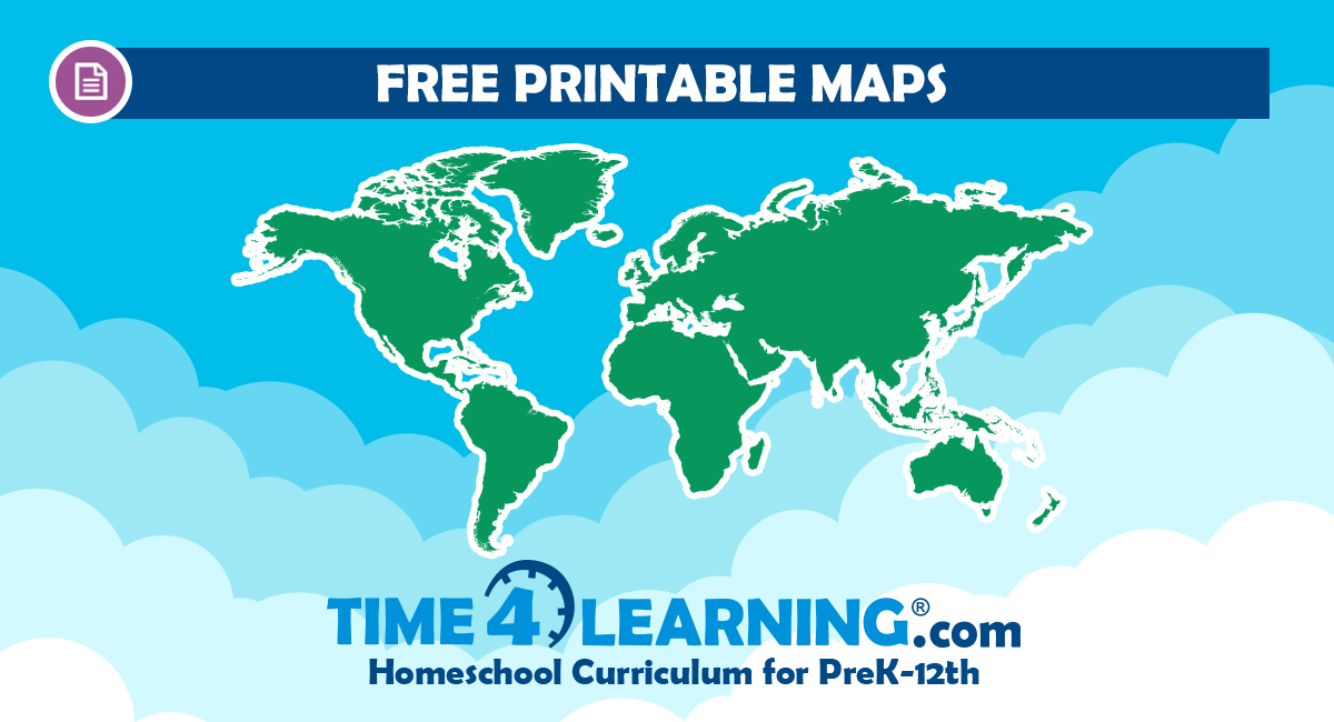 graphic relating to Free Printable Map of the World referred to as Free of charge Printable Maps of the U.S.A. the Entire world Period4Studying