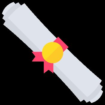 Scholarship scroll