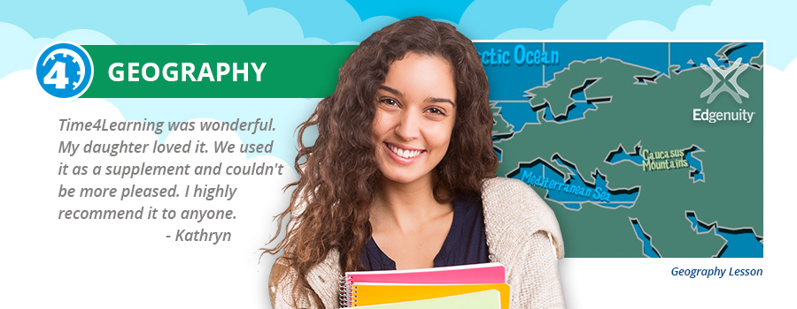 Homeschool High School Geography Course Time4learning