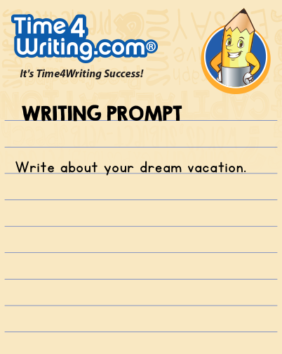 dream vacation essay kids