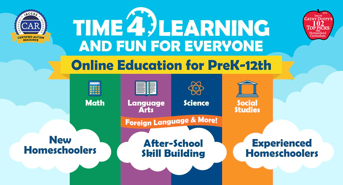 Time4Learning | Online Curriculum For PreK-12th Grade