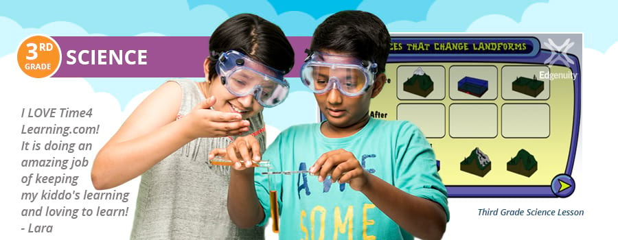 3rd Grade Science Lesson Plans | Time4Learning