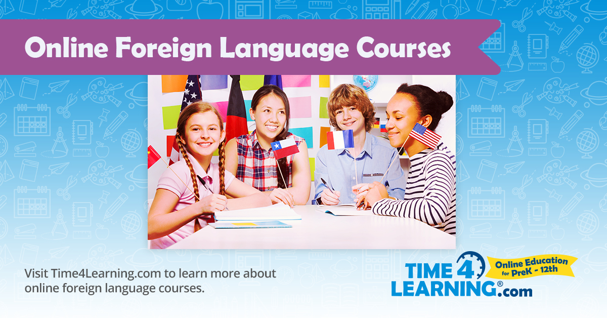 Online Language Learning | Time4Learning