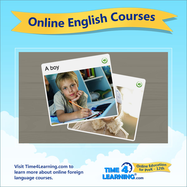 Online English (American) Language Course