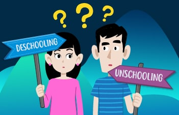 Difference Between Unschooling and Deschooling