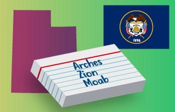 Utah Vocabulary List & Games
