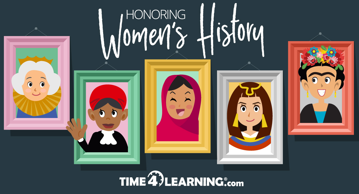Celebrating Great Women In History In March on Texas Government Worksheets Kindergarten